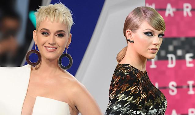 Katy Perry and Taylor Swift might not be enemies anymore. (Photo: Getty Images)