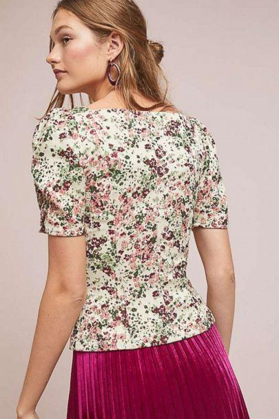 PHOTO: Anthropologie Alchemy Fitted Blouse (Anthropologie)