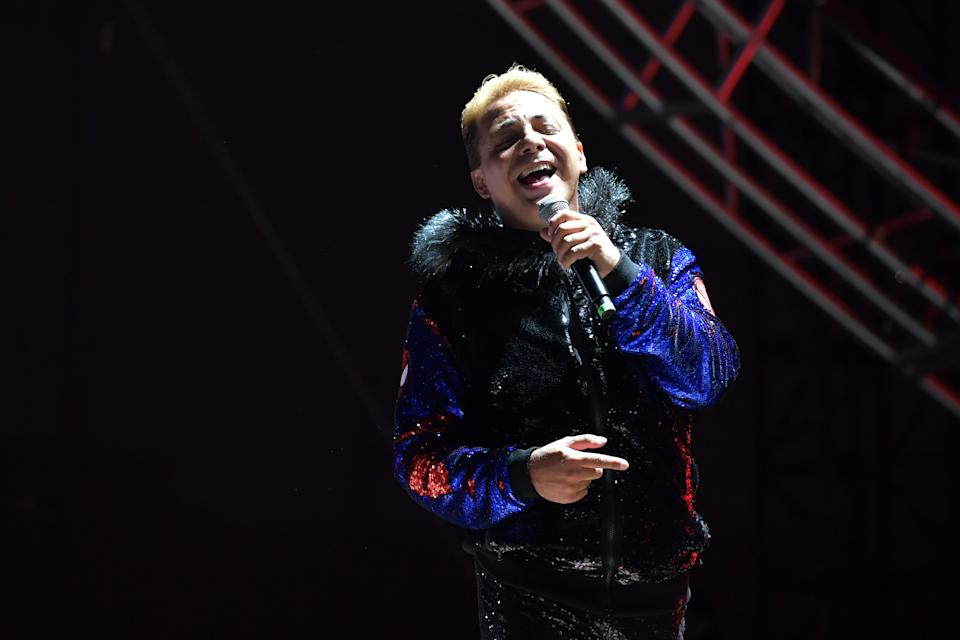 Cristian Castro. (Photo by Amy Sussman/Getty Images)