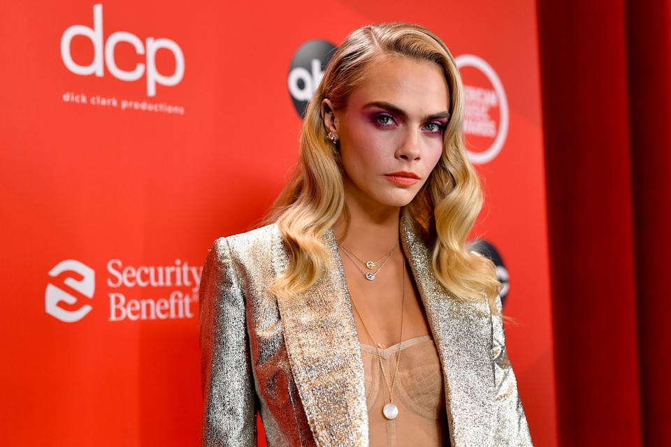 Cara Delevingne has opened up on her sexuality. (Photo by Emma McIntyre /AMA2020/Getty Images for dcp)