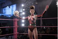 """<p><em>Glow </em>is inspired by the story of the Gorgeous Ladies of Wrestling (GLOW), a group of real-life '80s """"misfits"""" and struggling actresses that banned together to create a television show about female wrestling. The irreverent comedy follows Ruth Wilder (Alison Brie) as she attempts to find success. The team behind <em>Orange Is the New Black</em> produced this show, so if <em>OITNB </em>struck a chord, you might want to also add this one to your queue. </p><p><a class=""""link rapid-noclick-resp"""" href=""""https://www.netflix.com/title/80114988"""" rel=""""nofollow noopener"""" target=""""_blank"""" data-ylk=""""slk:Watch Now"""">Watch Now</a><br></p>"""