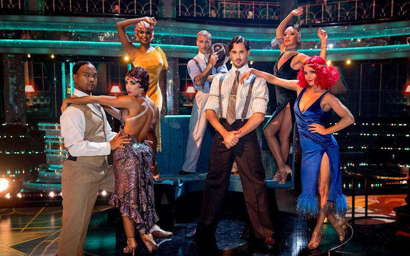The Strictly professionals gear up for a new series