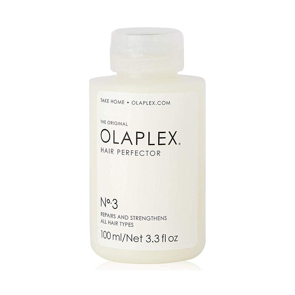 """<p>Formerly available only in professional salons (and subsequently for steep prices), <a href=""""https://www.amazon.com/s/ref=as_li_ss_tl?k=olaplex&ref=choice_dp_b&linkCode=ll2&tag=isbeautyprimeday2019bestbeautydealsroundupcfisher0719-20&linkId=b9d4e94d194bb00ab2725842d393c2ff&language=en_US"""" target=""""_blank"""">luxury haircare brand Olaplex</a> is now accessible to the masses. My colorist used to charge me $50 a pop for <a href=""""https://www.instyle.com/hair/hair-products-tools/olaplex-hair-perfector-bond-smoother-sale-amazon"""" target=""""_blank"""">the Hair Perfector treatment</a>, an entire bottle of which you can now get for less than $20 as an Amazon Prime Deal of the Day.</p> <p><strong>To buy:</strong> $20 (Originally $28); <a href=""""https://www.amazon.com/Olaplex-Perfector-Repairing-Treatment-Packaging/dp/B00SNM5US4/ref=as_li_ss_tl?ie=UTF8&linkCode=ll1&tag=isbeautyprimeday2019bestbeautydealsroundupcfisher0719-20&linkId=ce7c09a91d9ce6abf5deaf56e200f6f8&language=en_US"""" target=""""_blank"""">amazon.com</a></p>"""