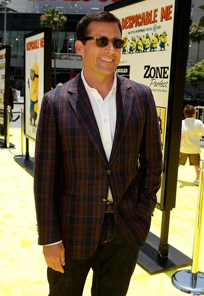 """Also on August 16, """"The Office's"""" Steve Carell turns 48. Todd Williamson/<a href=""""http://www.wireimage.com"""" target=""""new"""">WireImage.com</a> - June 27, 2010"""