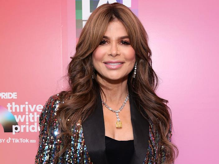 """Paula Abdul attends the """"Thrive With Pride"""" Concert with Charli XCX,"""