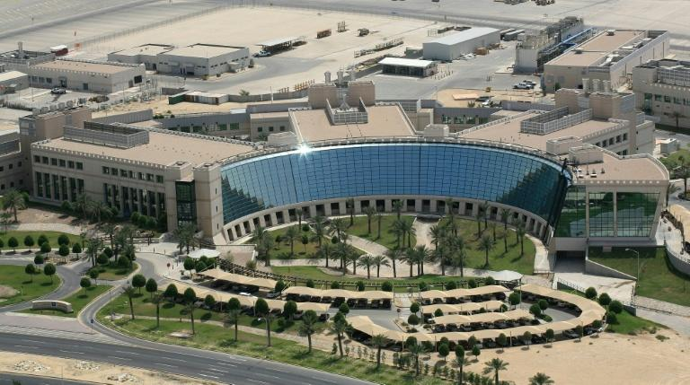 Aramco's sprawling Dhahran headquarters also feature a manicured suburb with quaint houses, shopping plazas and schools for its 15,000-strong workforce (AFP Photo/-)