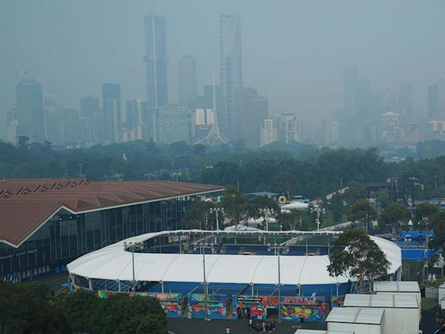 Melbourne has been engulfed in a cloud of smoke due to the bushfires: EPA