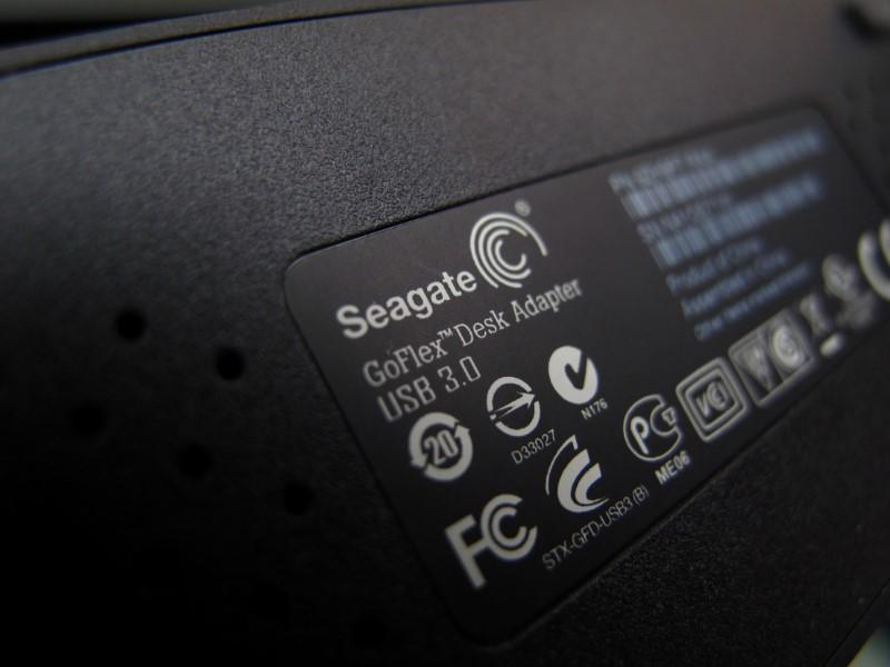 A Seagate Tech external computer hard drive is shown in this photo illustration in Encinitas, California