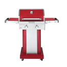 """<p><strong>KitchenAid</strong></p><p>homedepot.com</p><p><strong>$299.00</strong></p><p><a href=""""https://go.redirectingat.com?id=74968X1596630&url=https%3A%2F%2Fwww.homedepot.com%2Fp%2FKitchenAid-2-Burner-Propane-Gas-Grill-in-Red-720-0891C%2F300448371&sref=https%3A%2F%2Fwww.oprahdaily.com%2Fstyle%2Fg36728116%2Fbest-grills%2F"""" rel=""""nofollow noopener"""" target=""""_blank"""" data-ylk=""""slk:Shop Now"""" class=""""link rapid-noclick-resp"""">Shop Now</a></p><p>It has stainless steel burners that retain their heat, an electronic igniter system, foldable side shelves, and hooks for cooking tools. And the color will heat up your cookout. </p>"""
