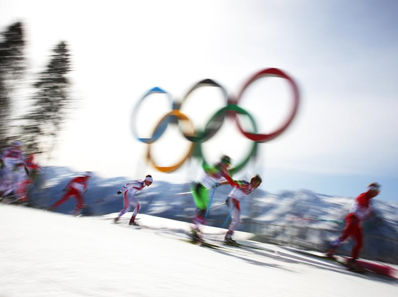 The Winter Olympics begins on 9 February: Getty