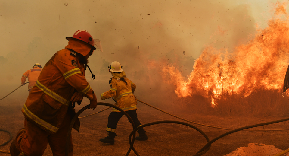As firefighters tackled severe blazes during Black Summer, many politicians said it wasn't the time to discuss climate change. Source: Getty