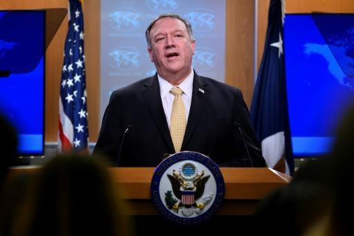 Secretary of State Mike Pompeo announces the US change of policy on Israeli settlements which breaks with decades of international consensus