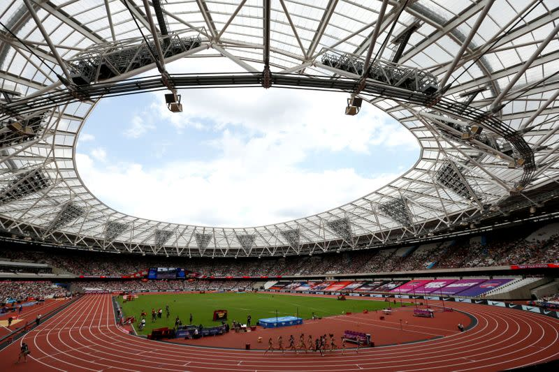FILE PHOTO: Athletics - London Anniversary Games