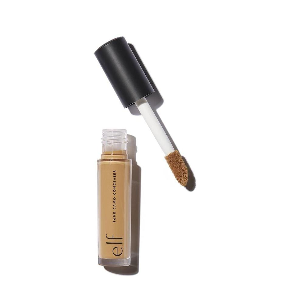 <p>For 15 hours, you can have a clear and creaseless complexion with the <span>E.l.f. Cosmetics Camo Concealer</span> ($5). It's so affordable, you'll want to purchase it in a few shades to contour and highlight with.</p>