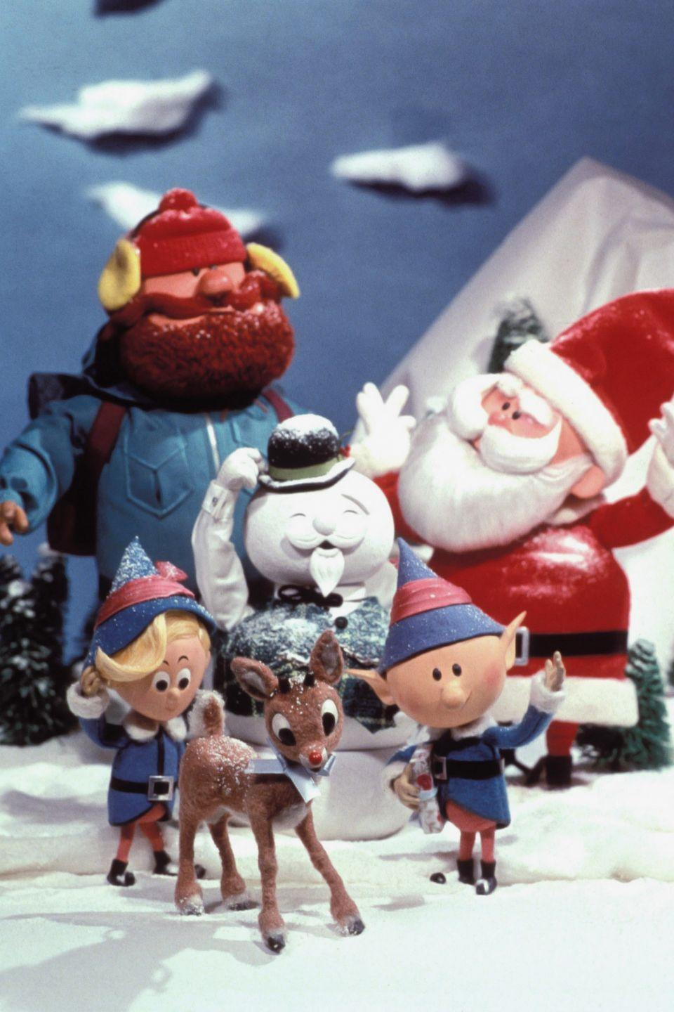 """<p>Technically a TV special that could never have known its 50+-year endurance, Rudolph plus Frosty and their <a href=""""https://www.amazon.com/Original-Christmas-Classics-Red-Nosed-Reindeer/dp/B000R7G6JA?tag=syn-yahoo-20&ascsubtag=%5Bartid%7C10056.g.13149732%5Bsrc%7Cyahoo-us"""" rel=""""nofollow noopener"""" target=""""_blank"""" data-ylk=""""slk:companion holiday classics"""" class=""""link rapid-noclick-resp"""">companion holiday classics</a> count as a feature-length affair in our book. Plus, what's a holiday viewing roundup without a stop-motion tale narrated by Burl Ives?</p><p><em>Stream on amazon.com free with a Prime membership.</em> <a class=""""link rapid-noclick-resp"""" href=""""https://www.amazon.com/Rudolph-Nosed-Reindeer-Billie-Richards/dp/B076Y29GJF/?tag=syn-yahoo-20&ascsubtag=%5Bartid%7C10056.g.13149732%5Bsrc%7Cyahoo-us"""" rel=""""nofollow noopener"""" target=""""_blank"""" data-ylk=""""slk:WATCH"""">WATCH</a></p>"""