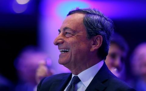 European Central Bank (ECB) President Mario Draghi - Credit: RALPH ORLOWSKI/REUTERS