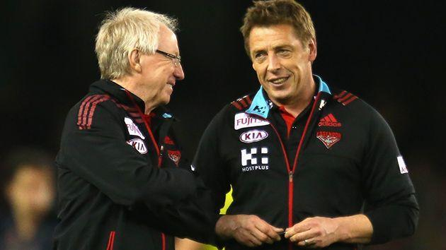 Reid and Thompson. Image: Getty