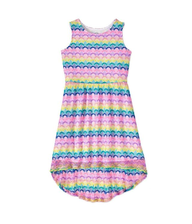 "<p>Hi-Lo Dress, $10, <a href=""https://www.walmart.com/ip/Wonder-Nation-Girls-Hi-Lo-Dress/281793193"" rel=""nofollow noopener"" target=""_blank"" data-ylk=""slk:walmart.com"" class=""link rapid-noclick-resp"">walmart.com</a>. (Photo: Courtesy of Walmart) </p>"