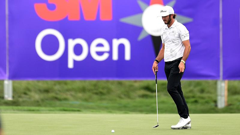 While on Twitter hiatus, Max Homa vaults into contention at 3M Open
