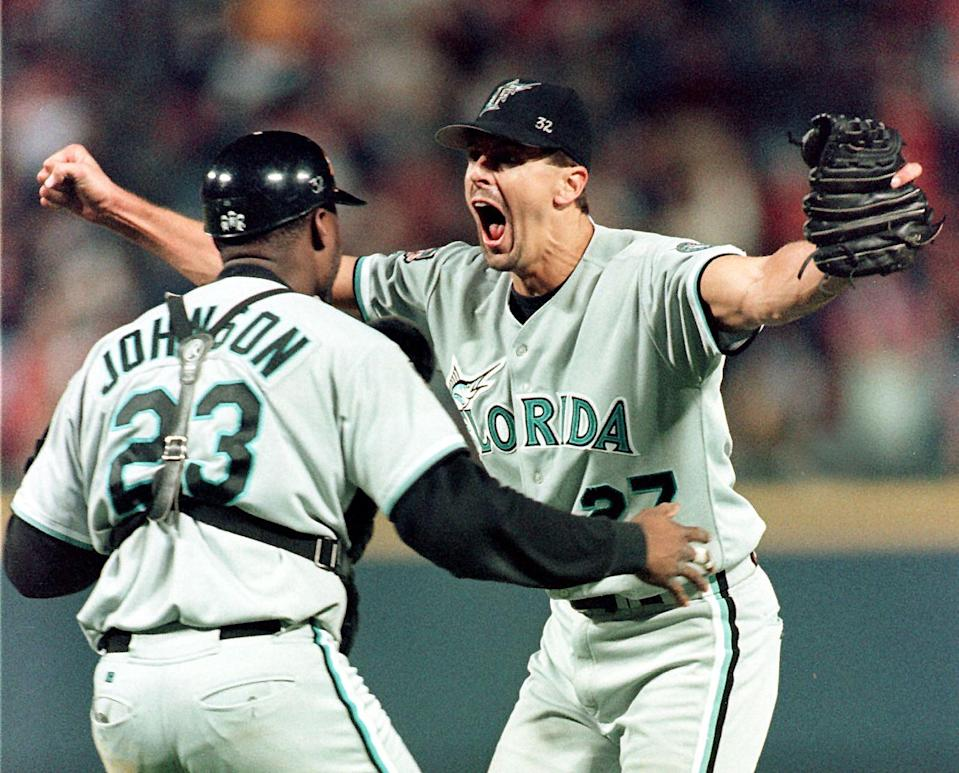 Kevin Brown signed one of the best free-agent contracts for a pitcher and also one of the worst. (Getty Images)