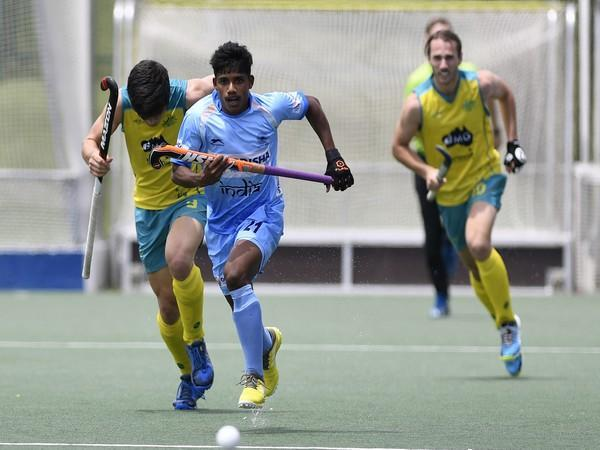 India colts striker Sudeep Chirmako (Photo/ Hockey India)