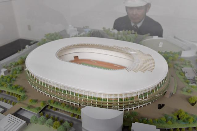 The Tokyo Olympic Stadium will be located in the Shinjuku district of Japan. (Getty Images)