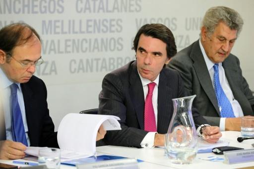 Conservatives in one of Spain's biggest corruption trials