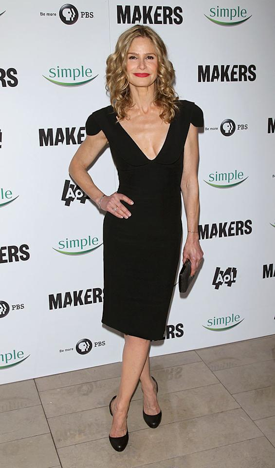 "Kyra Sedgwick arrives at ""MAKERS: Women Who Make America"" New York Premiere at Alice Tully Hall on February 6, 2013 in New York City."