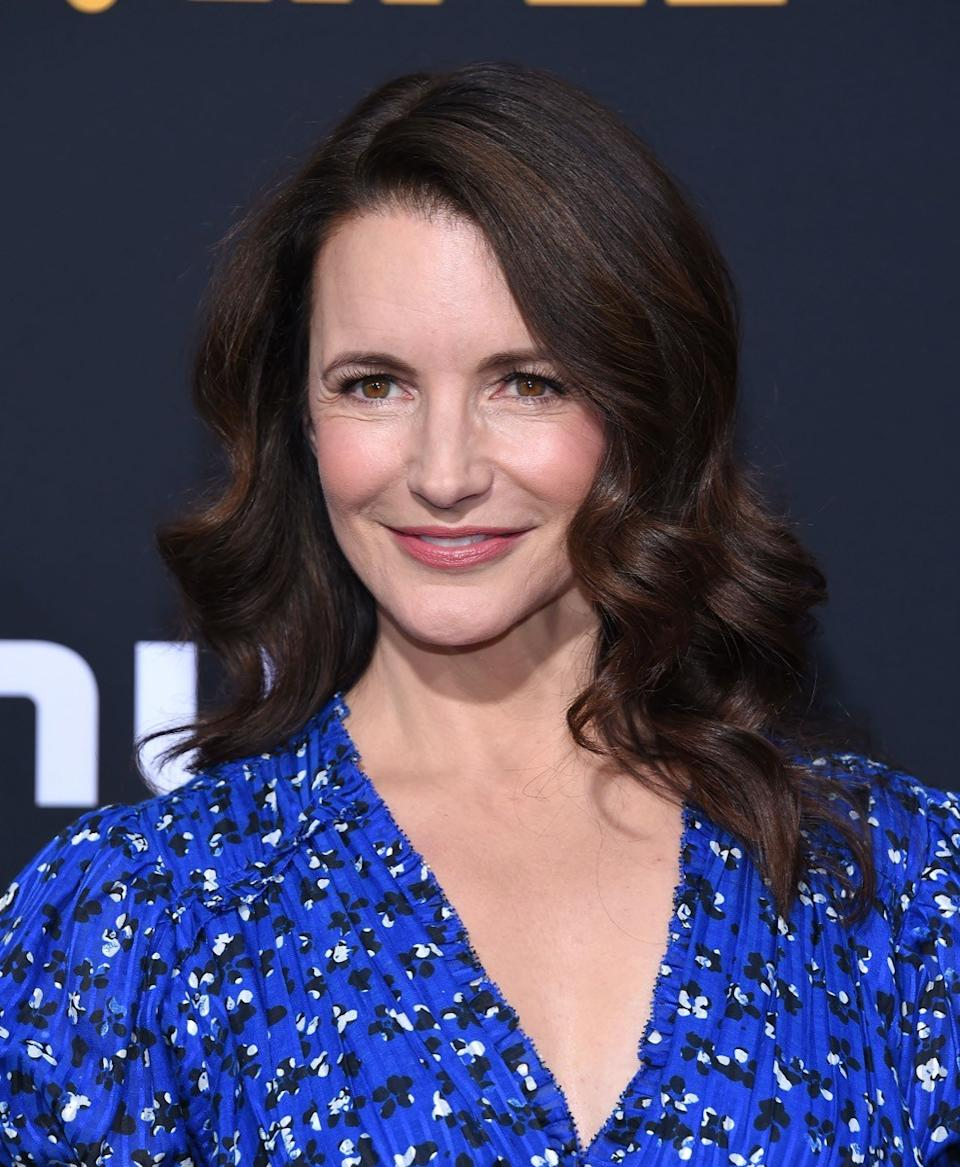 Kristin Davis at the premiere of Hulu's 'Catch-22' in 2019