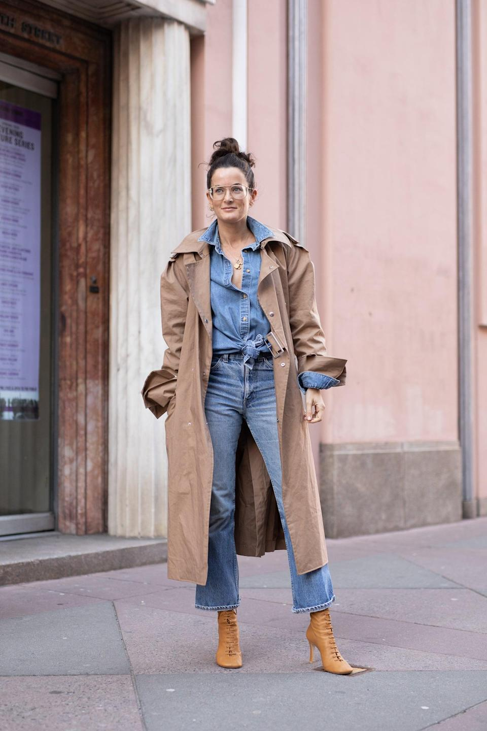 <p>Straight leg jeans feel undoubtedly classic and with the '90s boot cut upgrade, they will work seamlessly with any outfit you decide on. The best part: they can be easily dressed up or down, and allow for a shoe moment.</p>