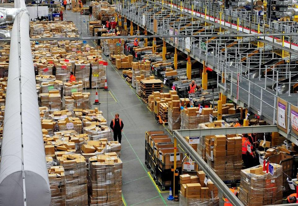 Amazon is creating 500 jobs at its new fulfilment centre in Dublin (Nick Ansell/PA) (PA Wire)