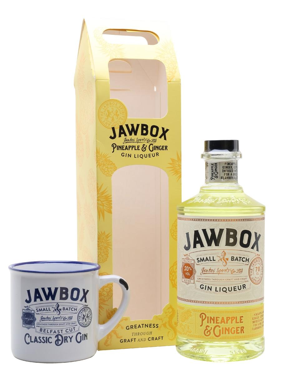 Jawbox Pineapple & Ginger Gin Liqueur, $27.75 from the Whisky Exchange
