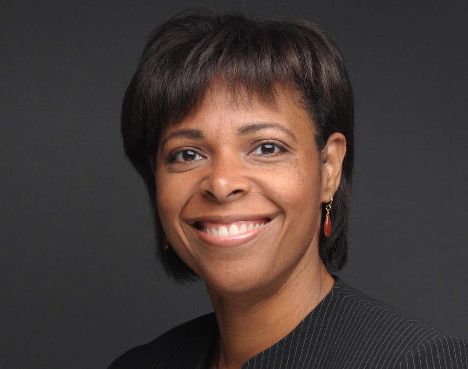 This photo provided by Burson Cohn & Wolfe shows Kathryn Ross. Ross was one of just two Black women in Accenture's Miami office when she joined the global consulting firm nearly 27 years ago. Ross is now a managing partner and is heading a new initiative to help bring venture capital to Black-owned start-ups. (Rodney Wright Photography/Burson Cohn & Wolfe via AP)
