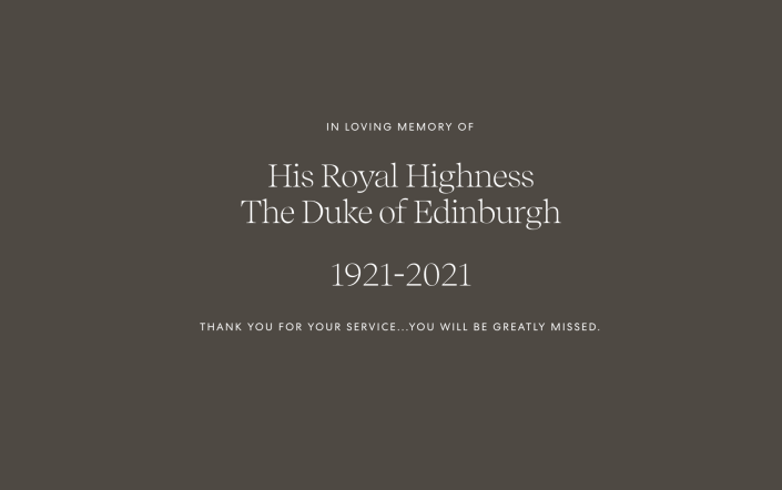 Harry and Meghan's foundation, Archewell, added this short tribute on its website. (Archewell)