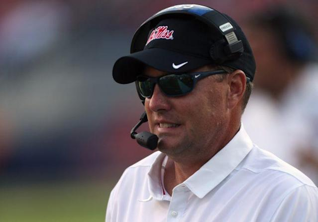 Hugh Freeze resigned form Ole Miss on July 20. (Getty)