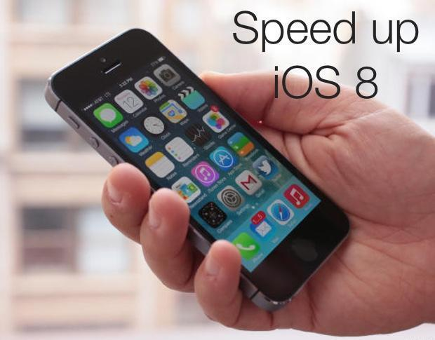 Speed up a slow iOS device