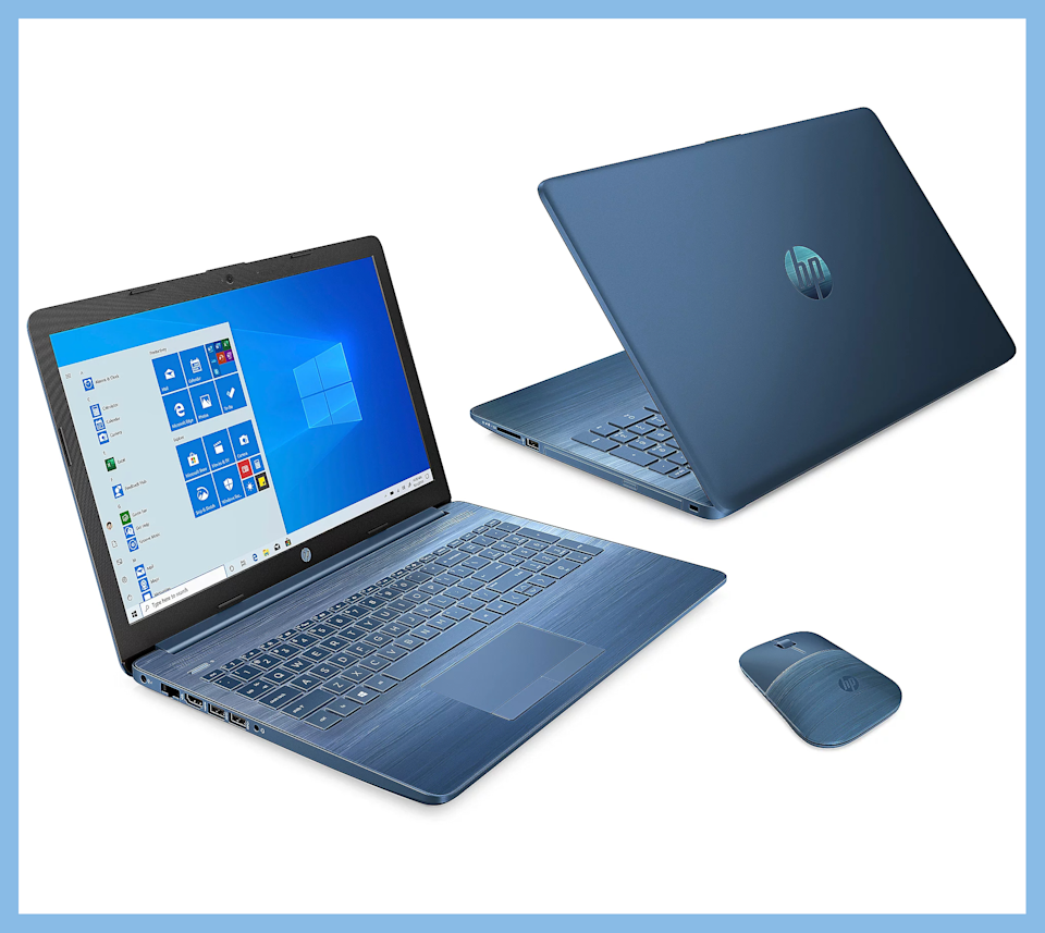 HP 15 Touch Laptop is $250 off. (Photo: QVC)