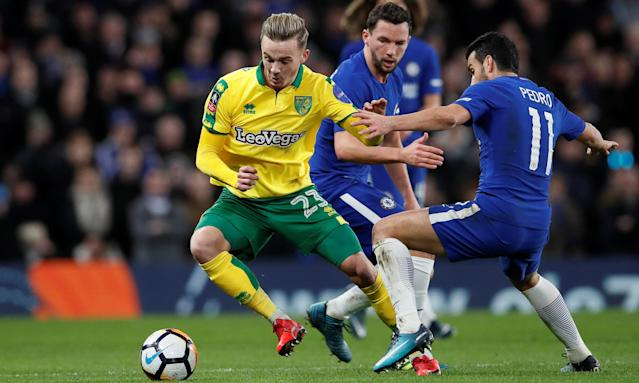 James Maddison has impressed for Norwich City this term, including against Chelsea earlier this month.