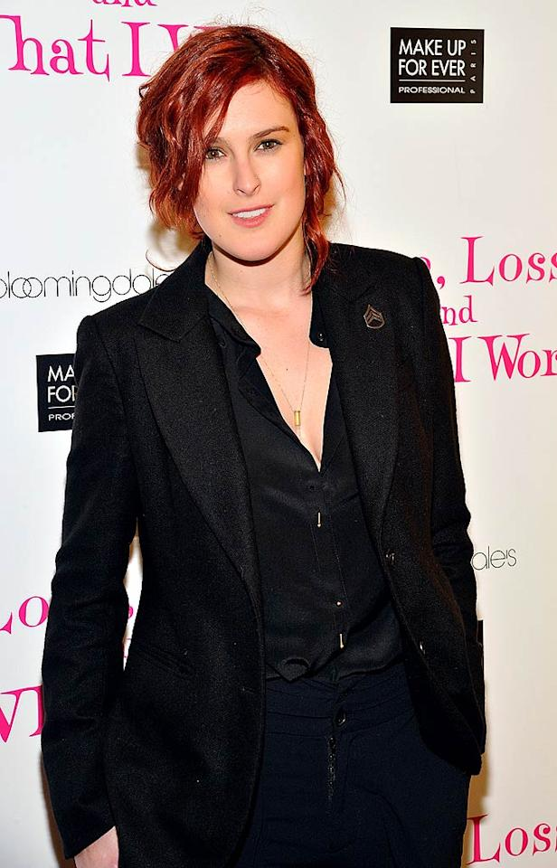 "Rumer Willis (daughter of Bruce Willis and Demi Moore) turns 23. Joe Corrigan/<a href=""http://www.gettyimages.com/"" target=""new"">GettyImages.com</a> - March 24, 2011"