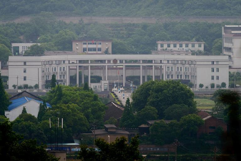 A general view of the Zhuzhou Baimalong Labour Camp in Hunan province seen on April 29, 2013