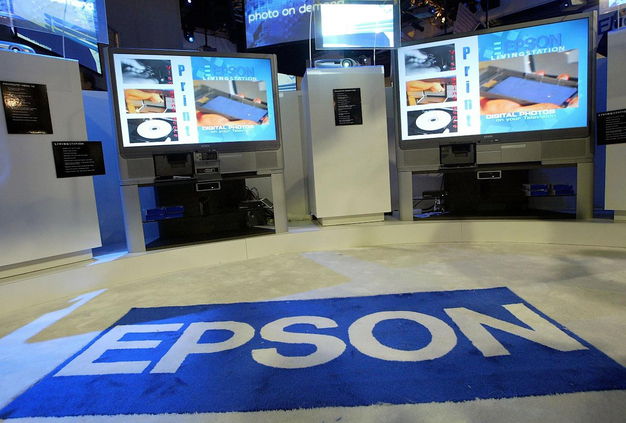 LAS VEGAS - JANUARY 9:  Two Epson Livingstation television/printer combos are seen at the Consumer Electronics Show (CES) January 9, 2004 in Las Vegas, Nevada. Thousands are expected to attend the four-day convention which is the largest consumer electronics show in the world.  (Photo by Justin Sullivan/Getty Images)