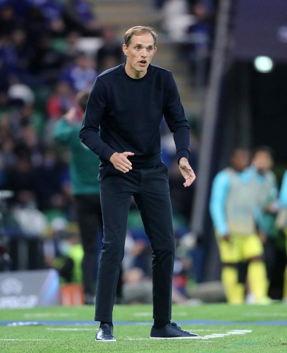 Thomas Tuchel, pictured, has thrown his weight behind Marcos Alonso's decision to stop taking the knee (Niall Carson/PA) (PA Wire)