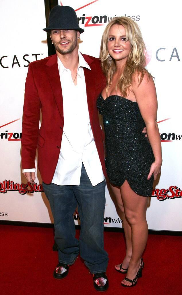 Britney Spears, Kevin Federline, Grammy Couples, 2005, Through the Years