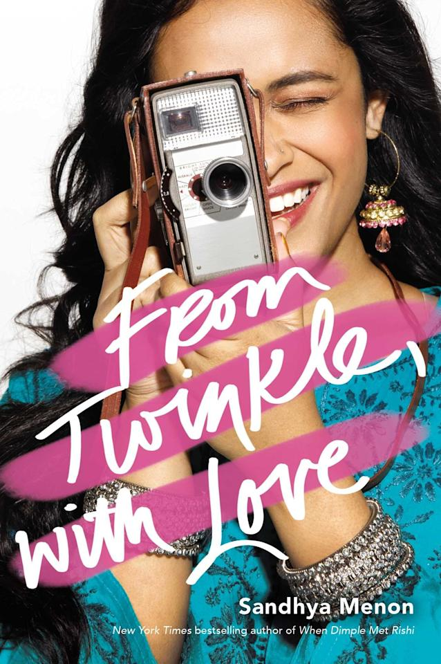 """<p>In Sandhya Menon's <strong><product href=""""http://www.amazon.com/Twinkle-Love-Sandhya-Menon/dp/1481495410/"""" target=""""_blank"""" class=""""ga-track"""" data-ga-category=""""Related"""" data-ga-label=""""http://www.amazon.com/Twinkle-Love-Sandhya-Menon/dp/1481495410/"""" data-ga-action=""""In-Line Links"""">From Twinkle, With Love</product></strong>, aspiring filmmaker Twinkle jumps at the opportunity to work with fellow film geek Sahil on a project for the upcoming summer film festival, especially since it will give her an opportunity to get close to her longtime crush Neil, Sahil's twin brother. When a mystery man who goes by """"N"""" starts sending emails to Twinkle, she's sure it's Neil and starts up a correspondence, all while unexpectedly falling for Sahil at the same time. </p>"""