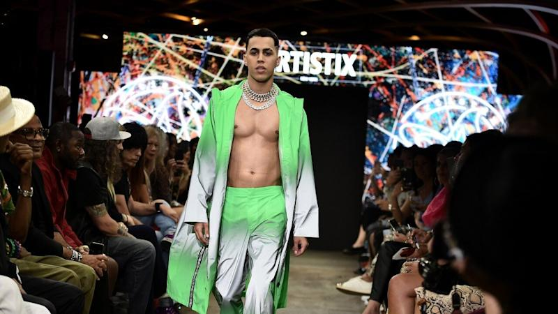 Daddy Yankee's Protégé Brytiago Becomes First Reggaetonero to Walk in NYFW Runway Show