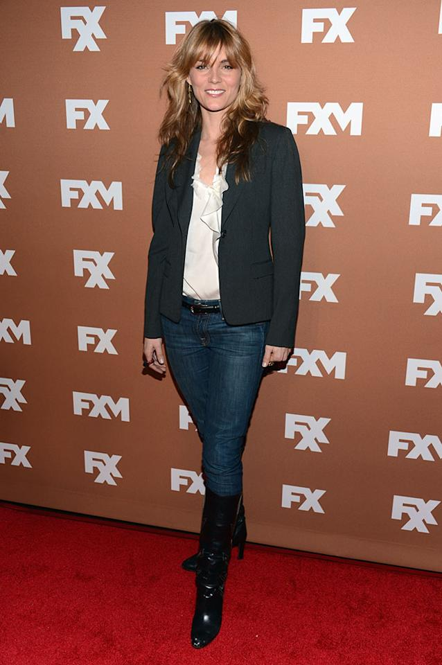 Susan Misner attends the 2013 FX Upfront Bowling Event at Luxe at Lucky Strike Lanes on March 28, 2013 in New York City.