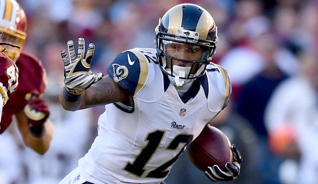 Stedman Bailey is seeking an NFL comeback two years after being shot in the head. (AP)