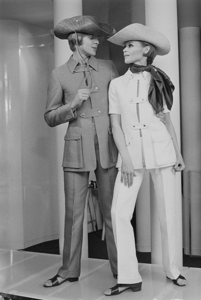 <p>The '60s set the tone for gender fluid fashion. </p>