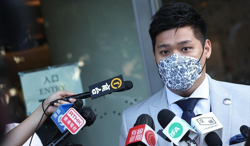 Sha Tin District Council member Raymond Li was among those disqualified on Friday. Photo: K. Y. Cheng