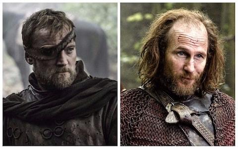 Beric Dondarrion and Thoros of Myr
